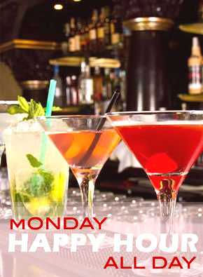 Monday Happy Hour All Day